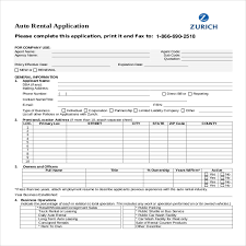 applications template rental application template 12 free word pdf documents