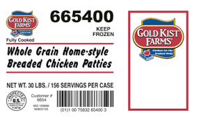 pilgrims pride pilgrim s pride recalls 50 tons of chicken patties for rubber bits