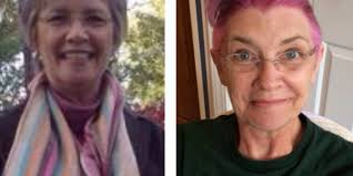 hair colour u can use during chemo mom with cancer dyes hair pink and gets mohawk before chemo