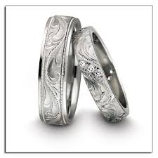 novell wedding bands platinum engraved wedding bands included in the ideal match