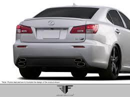 lexus is series lexus is series rear bumpers 2006 up bodykitz com