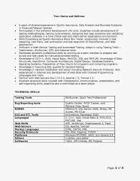 Test Manager Resume Template Information Security Analyst Resume Sample Free Resume Example