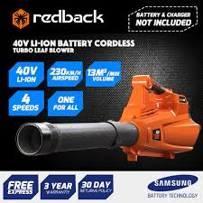 redback battery blower rb bl rb bl 190 00 buy online lawn