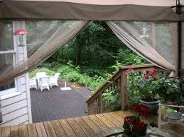 Sun Awnings For Decks Screen In Your Deck Easily U0026 Inexpensively