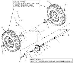 ariens 921044 000101 deluxe 28 parts diagram for engine 08201019