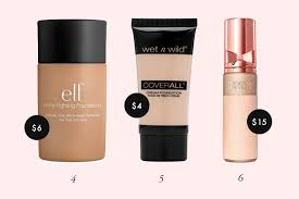 light foundation for dry skin 16 best cruelty free foundations from drugstore to high end