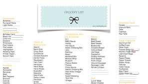 printable shot recipes grocery list free printable download organizer fantabulosity