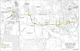 Tcnj Map The Somerset Freeway A Canceled Route Through Central Jersey