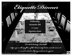 Esu Map Esu Insider Upcoming Events Etiquette Dinner