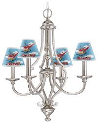 Mini Lamp Shades For Chandelier Helicopter Chandelier Lamp Shade Personalized Potty Scotty