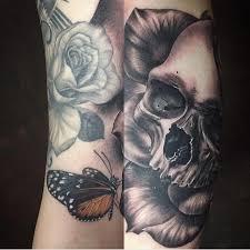 mystic eye tattoos skull skull and