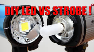 photography using continuous lights led vs studio strobes pro s and cons you