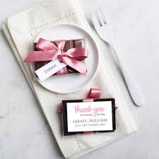 wedding favours mini chocolate bar wedding favour by gift library