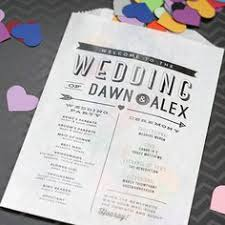 wedding program stationary vellum envelope wedding programs holding flower petals or confetti