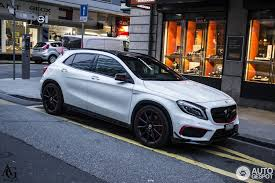 mercedes gla amg mercedes gla 45 amg edition 1 10 march 2016 autogespot