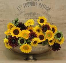 sunflower arrangements simple sunflower arrangements
