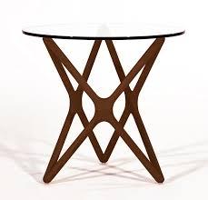 Modern Digs Furniture by Star Side Table American Walnut Modern Digs Furniture