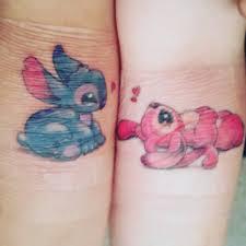 13 cute stitch tattoos