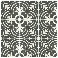 merola tile twenties classic ceramic floor and wall tile 7 3 4