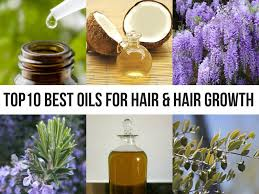 top 10 oils for healthy hair and faster hair growth