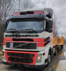 volvo trailer truck volvo fh 12 with trailer van hool vho 1175 for sale retrade