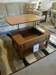 coffee table turned into tv dinner tray just 369 at