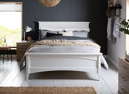 4ft Wooden Bed Frame Miller White Wooden Bed Frame Dreams In Frames