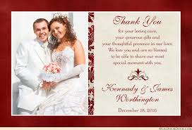 Marriage Cards Messages Classic Photo Wedding Thank You Cards Elegant Image