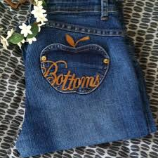 apple bottoms 80 apple bottoms denim gifted apple bottom flare leg