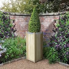 Topiary Planters - tall garden planters uk home outdoor decoration