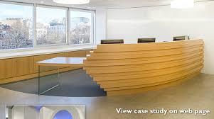 Bespoke Reception Desk April 2014 Gta Interior