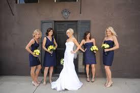 navy blue and purple wedding ideas