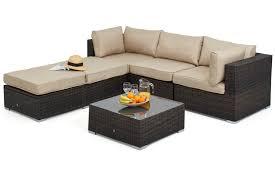 rattan corner sofa lisbon 5 6 seater rattan corner sofa set