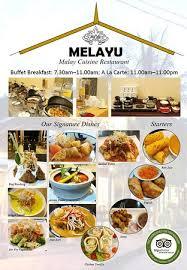 cuisine a la melayu cuisine restaurant pantai tengah langkawi restaurant