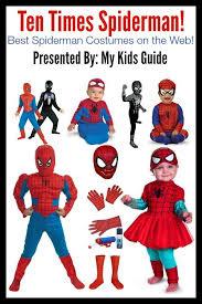 Spiderman Halloween Costumes Kids 25 Spiderman Halloween Costume Ideas Spider