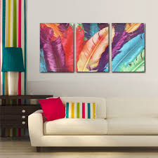 Canvas Painting For Home Decoration by 3 Cascade Huge Modern Abstract Canvas Painting Decorative Wall