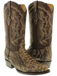 tan biker boots men u0027s genuine brown python snake skin cowboy boots western exotic