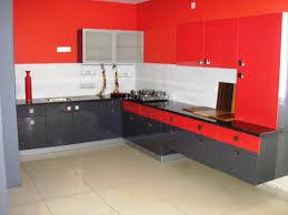 Kitchen Modular Designs by Red Modular Kitchen Crowdbuild For