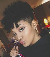 oval face with tapered afro haircut 12 natural tapered cuts according to face shape natural hair