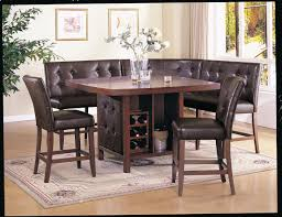 Dining Room Set With Bench Seat by Gen4congress Com Black Dining Room Set With Bench