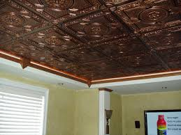 decorating interesting styrofoam ceiling tiles with photo collage