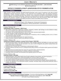 Sample Resume Administrative Coordinator by Resume Summary Administrative Assistant Administrative