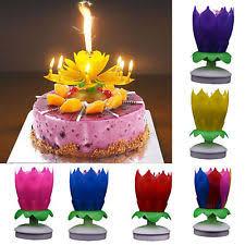 spinning birthday candle flower birthday candle ebay