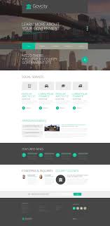 free bootstrap templates for government government responsive website template 52938