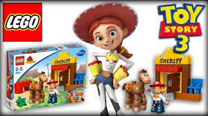 lego toy story jessie u0027s roundup lego duplo playset