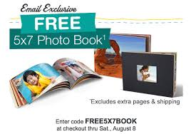 5x7 Photo Book Free 5x7 Photo Book From Walgreens Today Only Thrifty Jinxy