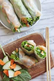 rice paper wrap shrimp rice paper rolls cupcakes kale chips