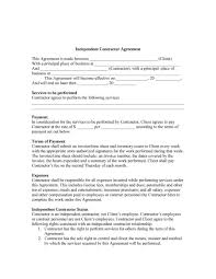 licensing agreement template free 50 free independent contractor agreement forms u0026 templates
