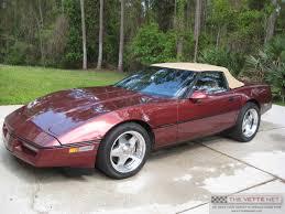 1987 corvette specs thevettenet com 1987 convertible corvette details