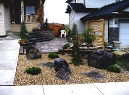 Tropical Rock Garden Front Yard Landscaping Pictures With Rocks Gallery Rock Garden In